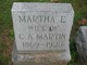 Martha E. <I>Haslett</I> Martin