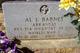"""Profile photo:  Algernon """"Albert"""" <I>Louis</I> Barnes"""