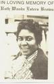 Ruth Wanda <I>Esters</I> Brown