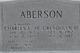 Profile photo:  Charles E Aberson, Jr