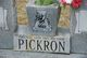 """William M. """"Sonny"""" Pickron"""