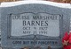 Louise <I>Marshall</I> Barnes