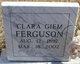 Clara <I>(Giem)</I> Ferguson