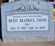 """Betsy Beatrice """"Bea"""" <I>Brewer</I> Smith"""