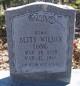 Betty <I>Wilson</I> Long
