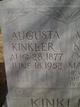 Profile photo:  Augusta Kinkler