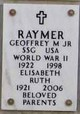 Profile photo:  Geoffrey Marvin Raymer, Jr