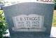 L.B Staggs