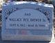 Wallace Rex Brewer, Sr