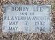 Profile photo:  Bobby Lee Aycoth