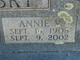 Annie V. <I>Holubec</I> Kopetsky