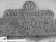 Leroy Holland