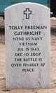 Tolly Freeman Gathright