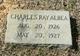 Profile photo:  Charles Ray Albea