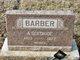 Profile photo:  A Gertrude <I>Butler</I> Barber
