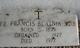 Fr Francis Blatnik