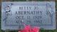 Betty Jo <I>Griffin</I> Abernathy
