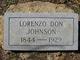 Lorenzo Don Johnson
