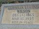 Cornilia Lucinda <I>Wilson</I> Wilson