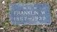 Franklin W. Nussbaum