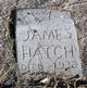 Profile photo:  James H Hatch
