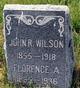 Florence A <I>Binkley</I> Wilson