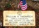 """PFC William Nathaniel """"Nat"""" Thompson"""