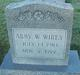 "Profile photo:  Alice Abigail ""Abby"" <I>Welch Janes</I> Wirey"