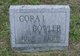 Profile photo:  Cora I. Bowler