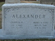 Mary Elizabeth <I>Cox</I> Alexander