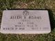 """Profile photo:  Allen R. """"Allie Rip"""" Adams"""