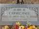 Rubie Helen <I>Beevers</I> Carmichael