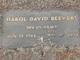 Harold David Beevers