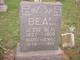 Mary <I>McKnight</I> Beal