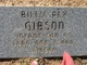 Profile photo:  Billy Rex Gibson