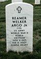 """Reamer Welker """"Happy"""" Argo Jr."""