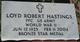 Loyd Robert Hastings