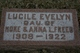 Lucile Evelyn Freed