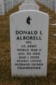 Profile photo:  Donald Louis Alborell