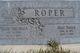 """Bert """" """" <I> </I> Roper"""