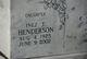 Inez T Henderson