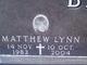 Matthew Lynn Backstrom