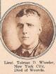 1LT Tolman Douglas Wheeler