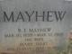 Mary Elizabeth <I>Hart</I> Mayhew