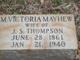 M. Victoria <I>Mayhew</I> Thompson