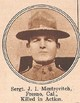 Profile photo: SGT James I. Mestrovitch