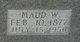 Maud Wilburn <I>King</I> Rose