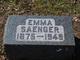 Emma Saenger