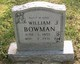 Profile photo:  William Jackson Bowman