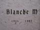 Profile photo:  Blanche Margaret Oberle